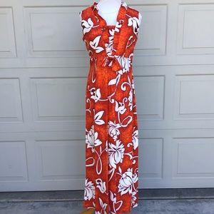 Vintage Hawaiian Dress Surfside Sportswear Luau
